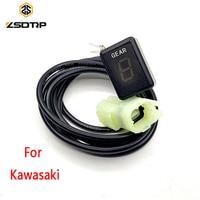 ZSDTRP Ecu Plug Mount 6 Speed Gear Display Indicator 1 6 Level Digital Gear Indicator For Kawasaki Motorcycle