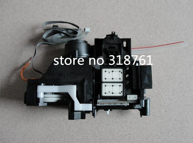 ФОТО 100% New Original cleaning unit pump unit compatible For EPSON R1800 Ink suction pump