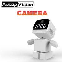 A380 Baby Monitor Viewing Online Night Vision 2 Way Talk Robot Shape Monitor Video Nanny Radio