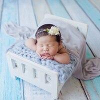 新生児の小道具の写真撮影の木ベッド新生児ポーズ写真の小道具フォトスタジオベビーベッドの小道具写真撮影ポーズソファ