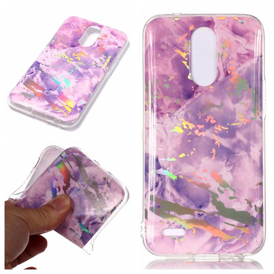 For iPhone 6 Case 7 8 Capa Simple Crack Marble TPU Case for LG K10 2017 M250N M250K X400 K20 Plus LV5 Scrub back cover Coque B02