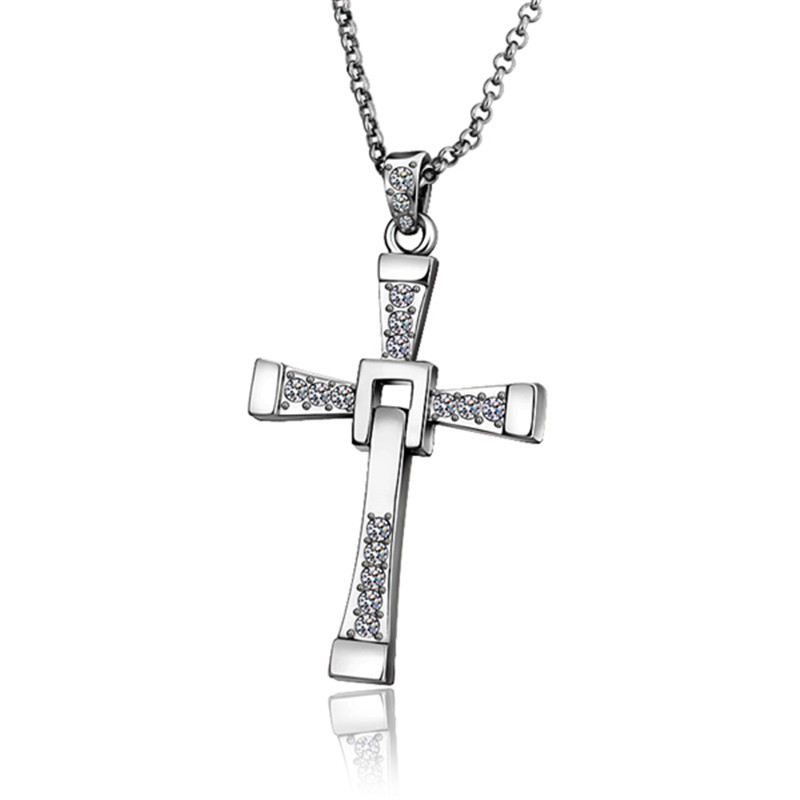 Gothic classic s925 stamp silver color men jewelry statement gothic classic s925 stamp silver color men jewelry statement necklaces cross pendants zircon vintage colar masculino qa0464 in pendant necklaces from aloadofball Image collections