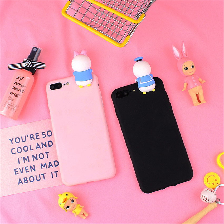 Candy Color Silicone Cartoon Case Cute Mickey Minnie Kitty Duck Soft Phone Case For Samsung Galaxy Grand Prime G530 G531 G531H