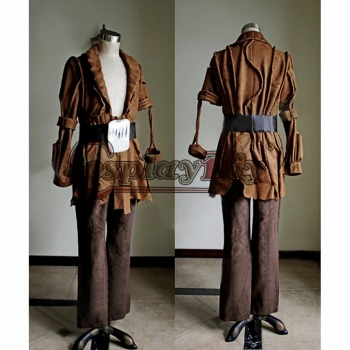 Cosplaydiy Star Trek II: The Wrath of Khan Cosplay Khan Noonien Singh Costume Set Adult Men Halloween Carnival Custom Made