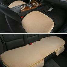 9 Colors High Quality Pure Wool Car Seat Cushion Mats