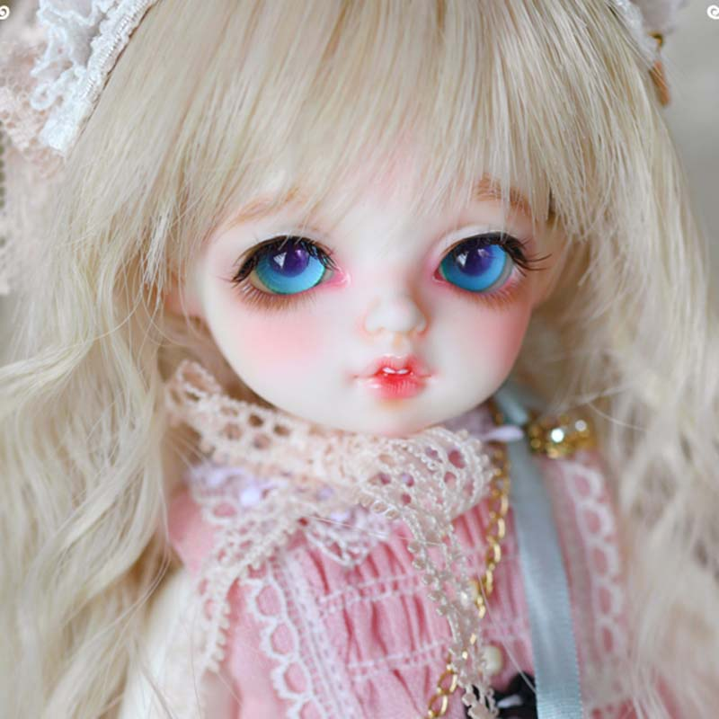 New Arrival 1/8 BJD Doll BJD/SD Lovely Bambis Doll With Eyes For Baby Girl Gift Present