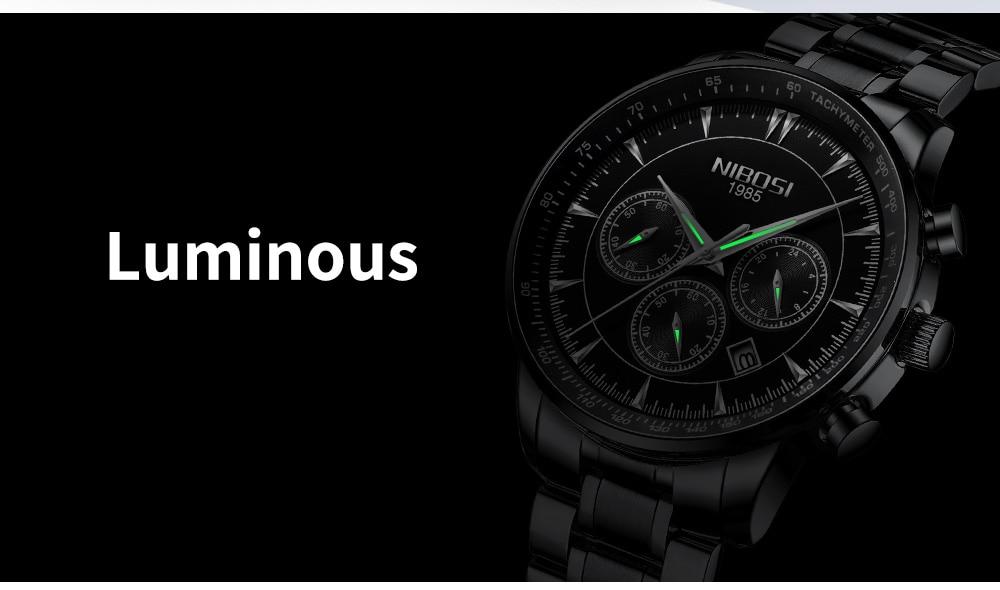 Relogio Masculino NIBOSI Quartz Watches Men Steel Band Men Watches 2018 Luxury Brand Waterproof Wrist Watches For Men Brand Saat (18)