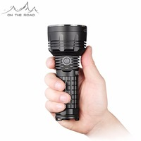 ON THE ROAD X5 Pro MicroUSB Flashlight USB 26650 Rechargeable mini Torch CREE LED Flashlight Super Bright Outdoor