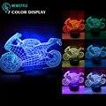3D motor Night light lamp DC5V Rechargeable led light RGB Color Touch sensor light for kids bedroom living room.