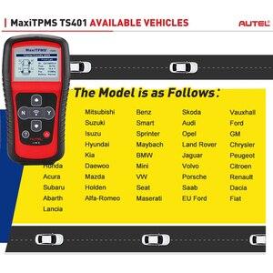 Image 4 - Autel MaxiTPMS TS401 TPMS Tool Programming MX Sensor OBD2 Scanner OBDII OBD 2 Car Diagnostic Tool Activate 315 433MHZ Sensor