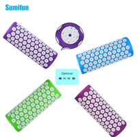 Sumifun Health Care Acupuncture Massager Pillow Cushion Acupressure Spike Yoga Pillow For Relieve Stress Pain Relief