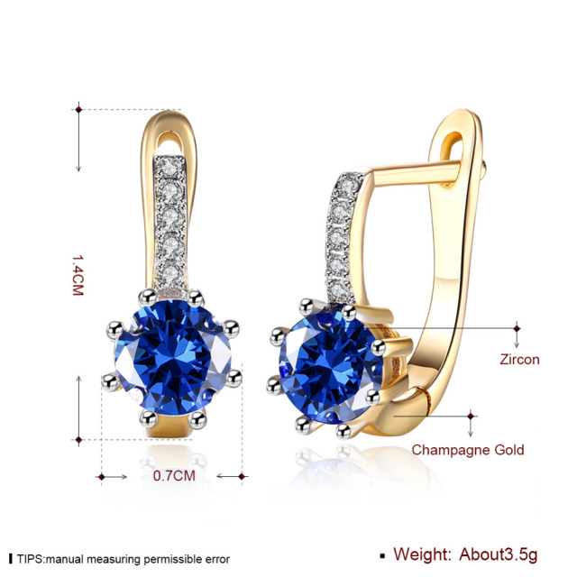 Clip On Fashion Drop Earrings