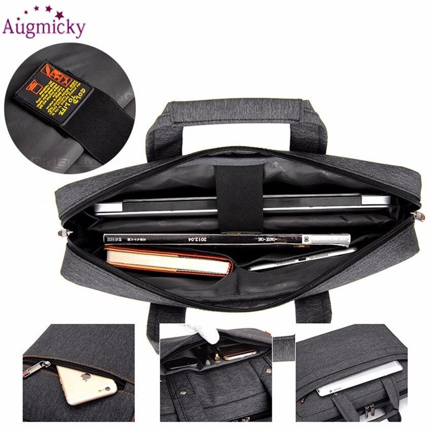 Image 2 - 2018 Big size computer bags Cases Shockproof airbag waterproof  Handbag luxury thick Notebook bag 12 13 14 15 15.6 17 17.3 inchLaptop  Bags