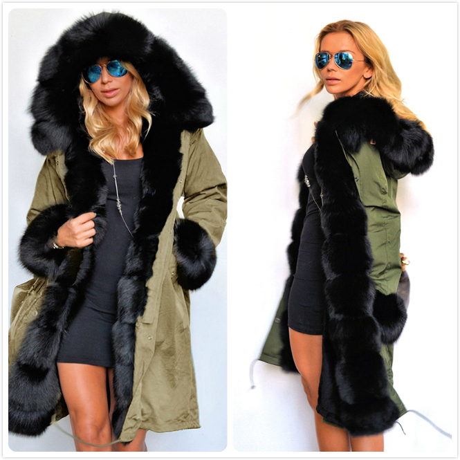 Womens Outwear   Parkas   Female   Parkas   Women Winter Coat Thickening Winter Jacket Gifts 3 Colors