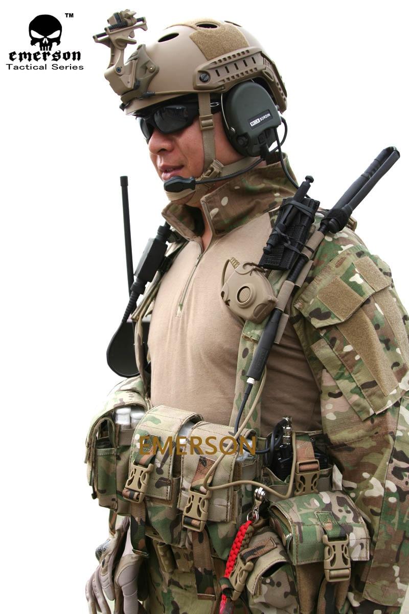 US Army Tactical Military Combat Uniform Suit Pants G3 Airsoft GEN3 Camo BDU BK