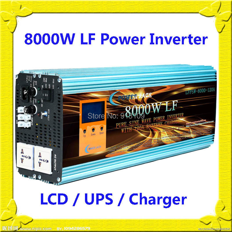 32000W/8000W Low Frequency Split Phase Pure Sine Wave Power