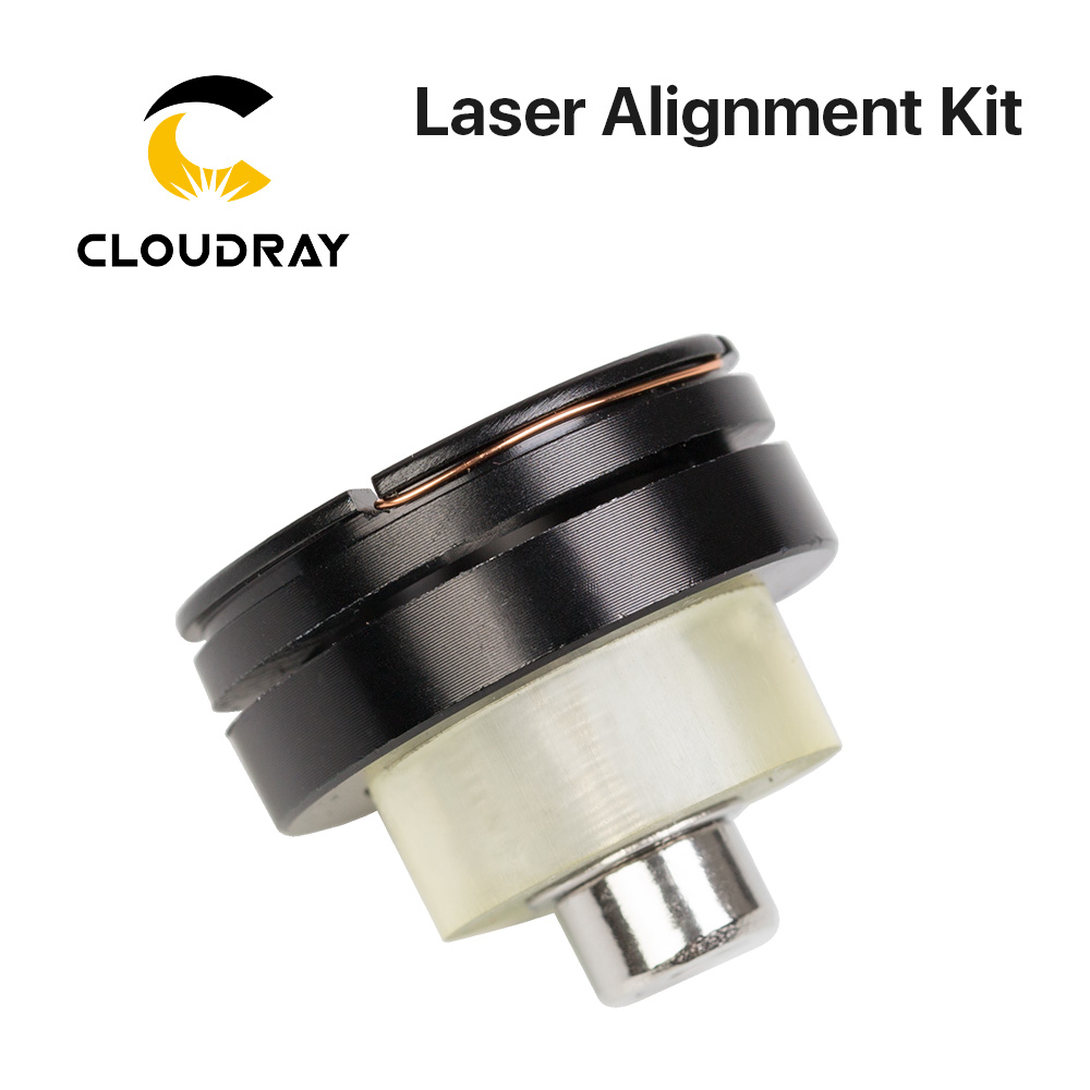 Cloudray Laser Path Calibrating Device Light Regulator Alignment Kit For CO2 Laser Cutting Machine To Adjust Collimate Laser