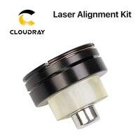 Cloudray laser caminho calibrando dispositivo luz regulador kit de alinhamento para co2 máquina de corte a laser para ajustar a laser colimate Peças p/ máquinas de trabalho em madeira Ferramenta -