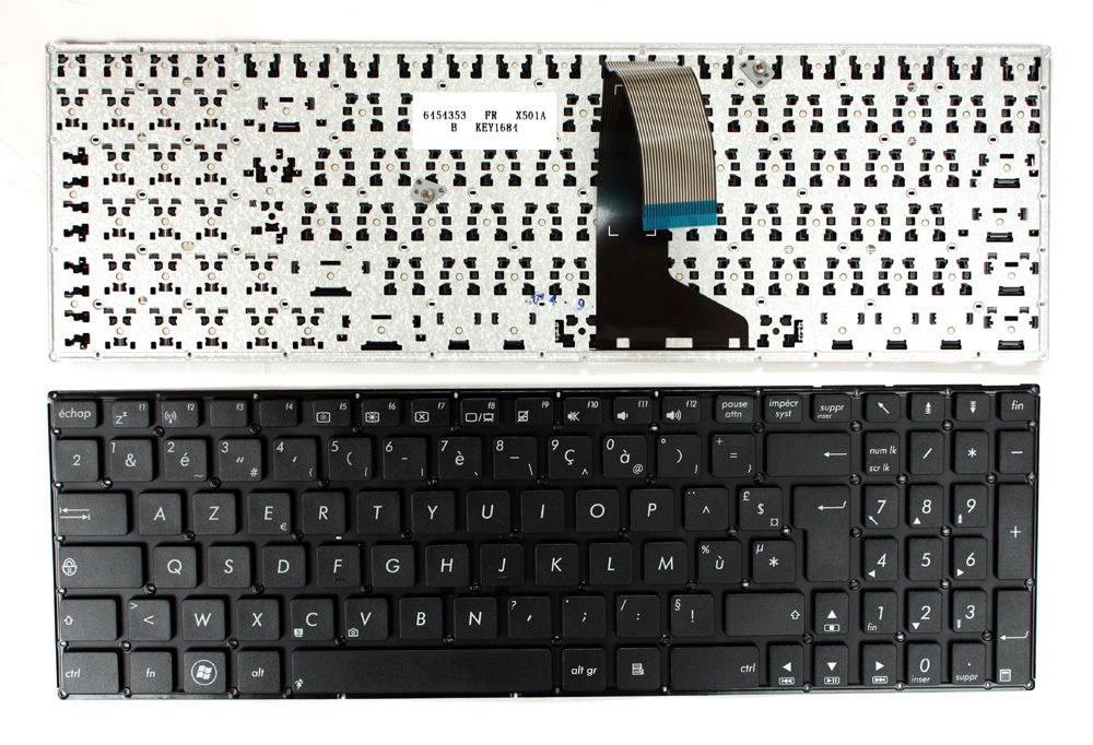 New Laptop keyboard for  ASUS   X501A-XX145  French/Fr layout new laptop keyboard for asus 0kn80 1120fr00 black windows 8 french layout