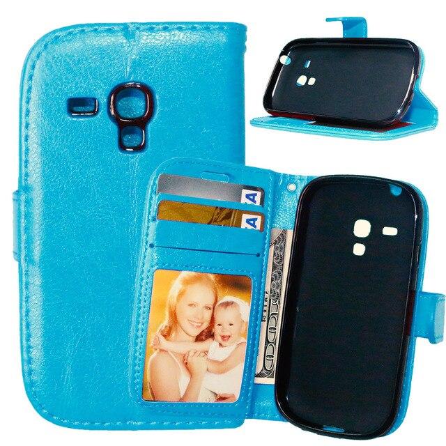 Flip Case for Samsung Galaxy S 3 iii mini S3 i8190 GT-i8190 i8200 GT-i8200 GT-i8200n Phone Leather Cover i 8190 8200 i8190n Case