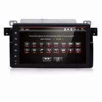Harita 1024X600 Quad Core BMW E46 için Araba DVD Android 6.0 GPS M3 Wifi 3G Bluetooth