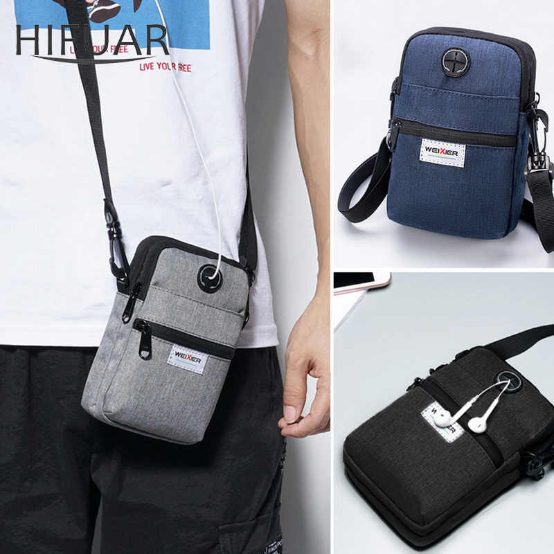 Multi-Function Man Shoulder Bag Male Mobile Phone Messenger Bags High Quality Outdoor Military Tactical Travel Sports Handbag