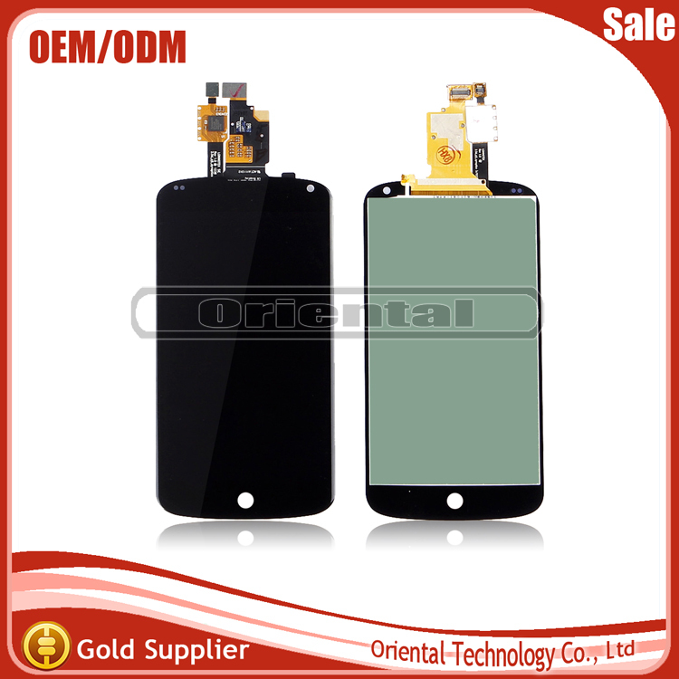Replacement For LG Optimus E960 Google Nexus 4 LCD Display With Touch Screen Digitizer Free Shipping new lcd touch screen digitizer with frame assembly for lg google nexus 5 d820 d821 free shipping