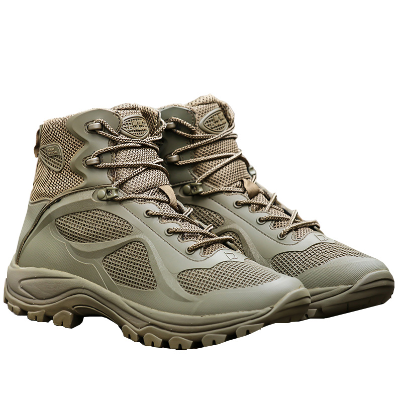 Military Trekking Men Shoes Spring Fall Combat Army Tactical Hunting Boot Breathable Mountain Ankle Boots Botas