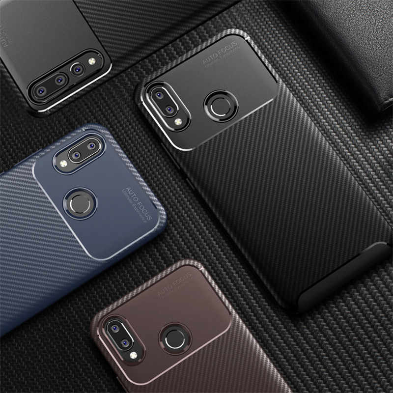 High Quality Twill Soft Case For Huawei P20 Lite P20 Pro Case for Huawai P20 Lite Plus Cover