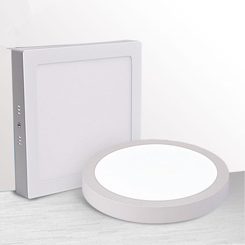 9W/15W/25W Square Led Panel Light Surface Mounted Led ceiling Downlight AC85-265V + LED Driver Free shipping 1