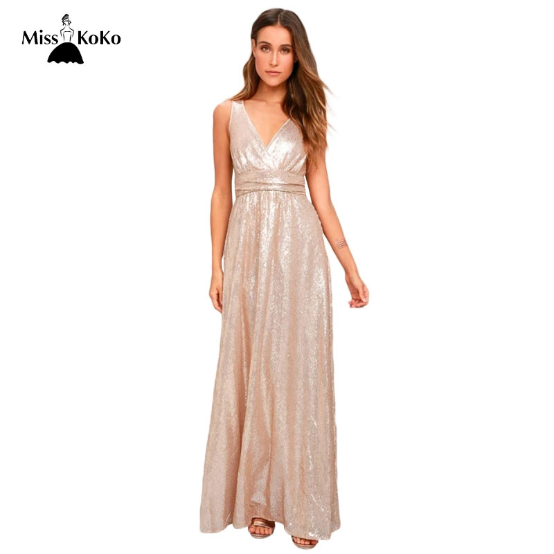 94e1c2eb2b4e Pink Mermaid Sequin Maxi Dress Backless - Year of Clean Water