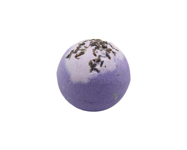 120g Organic Bath Bombs Dried Flower Petals Round Sea SaltMoisturizing Nourishing Lavender Rose Handmade SPA Christmas Gift Bat