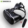 """VR Shinecon II 2.0 Шлем Виртуальной Реальности Очки Мобильный Телефон 3D Видео Фильм для 4.7-6.0 """"телефон + Пульт дистанционного управления"""