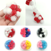 Slime Playdough Magnetic Rubber Mud Polymer Clay Toys Educational Crystal Mud Slime Toys For Children Kids