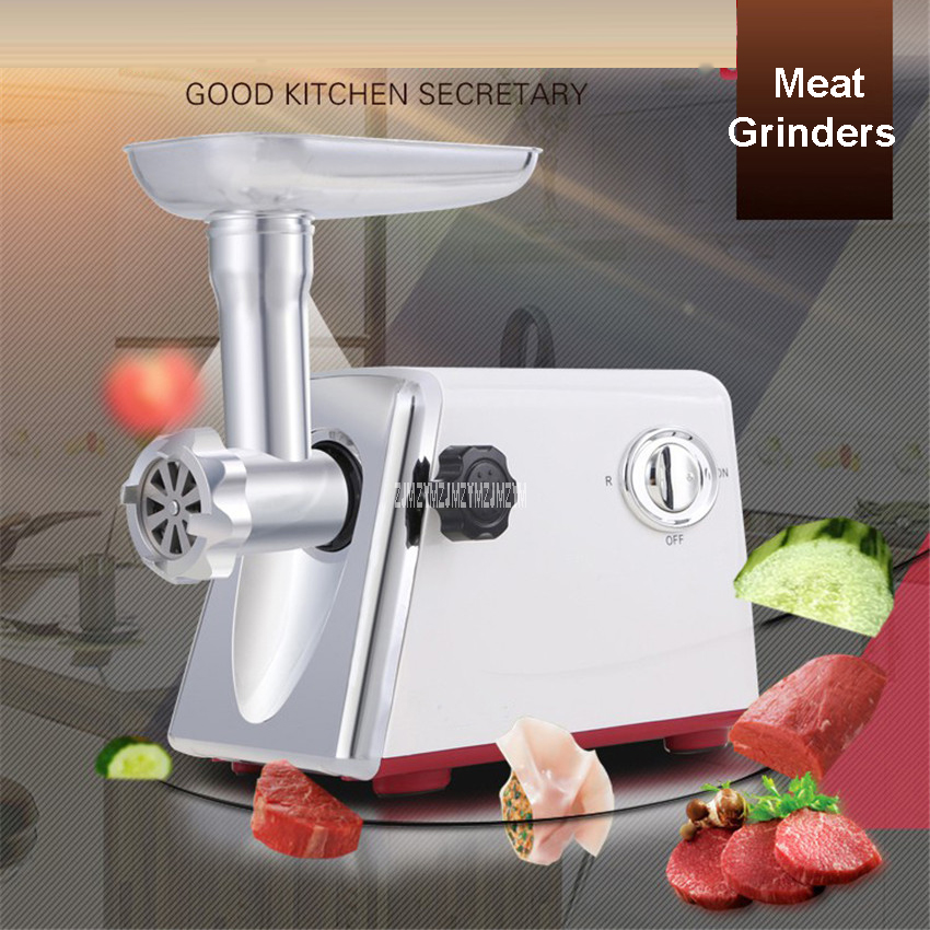LV688 220V/50Hz  Electric Multifunction Family Meat Grinder Meat and Vegetable Cutter Sliced Grilled Meat Grinder  600-1000W tp760 765 hz d7 0 1221a