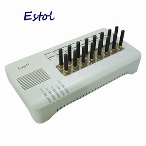 Image 1 - GSM шлюз DBL GOIP16, оригинал, четырехдиапазонный VOIP, 16 каналов GOIP 16 GOIP 16 IMEI изменение, сим банк, 16 сим карт SMS VOIP