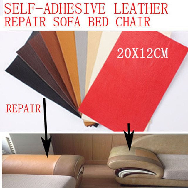 2PCS/LOT Repair Leather Sticker Patch Self Adhesive For Sofa Seat Chair Bed  Bag