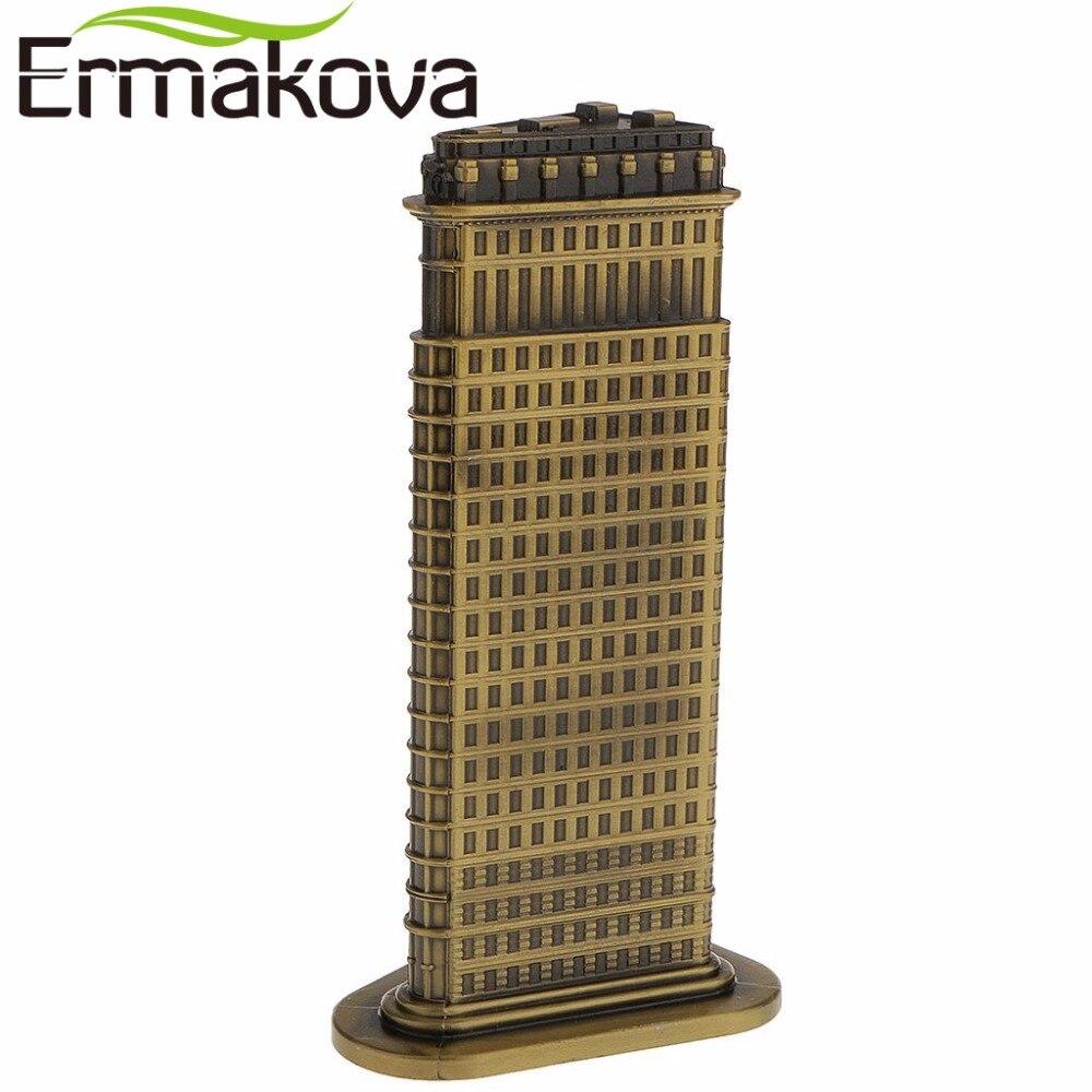 ERMAKOVA Bronx Antik, Modeli i Ndërtimit të Flatironit - Dekor në shtëpi - Foto 2