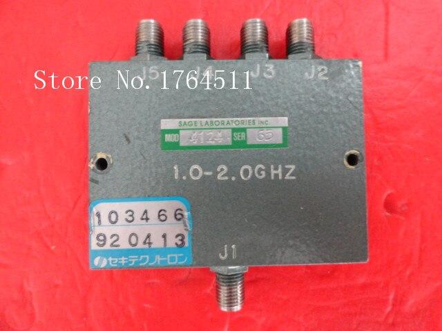 [BELLA] SAGE 4124 1-2GHz LABORATORIES Supply A Four Divider SMA