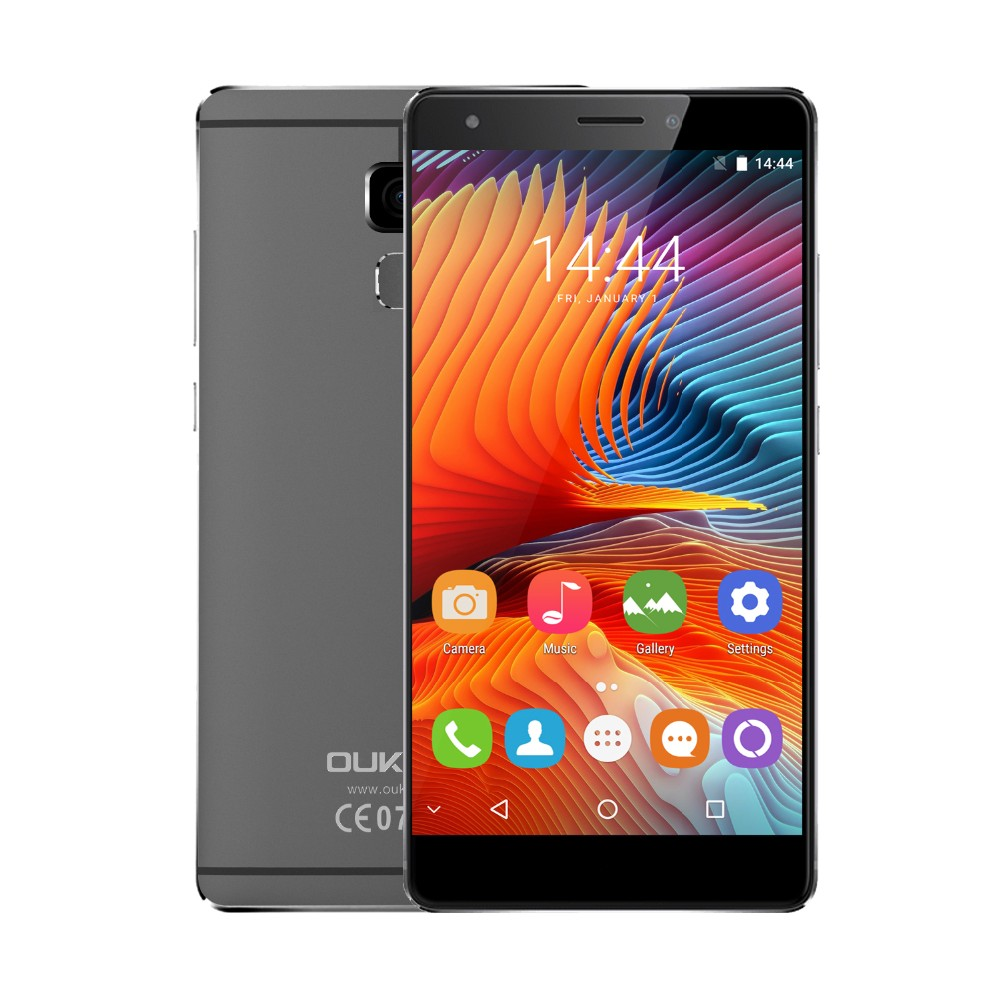 Original oukitel u13 1920*1080 5.5 pulgadas 4g teléfono móvil android 6.0 MTK675