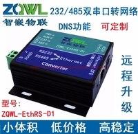 Serial Server Modbus TCP To RTU RS232 RS485 Dual Serial Transfer Network