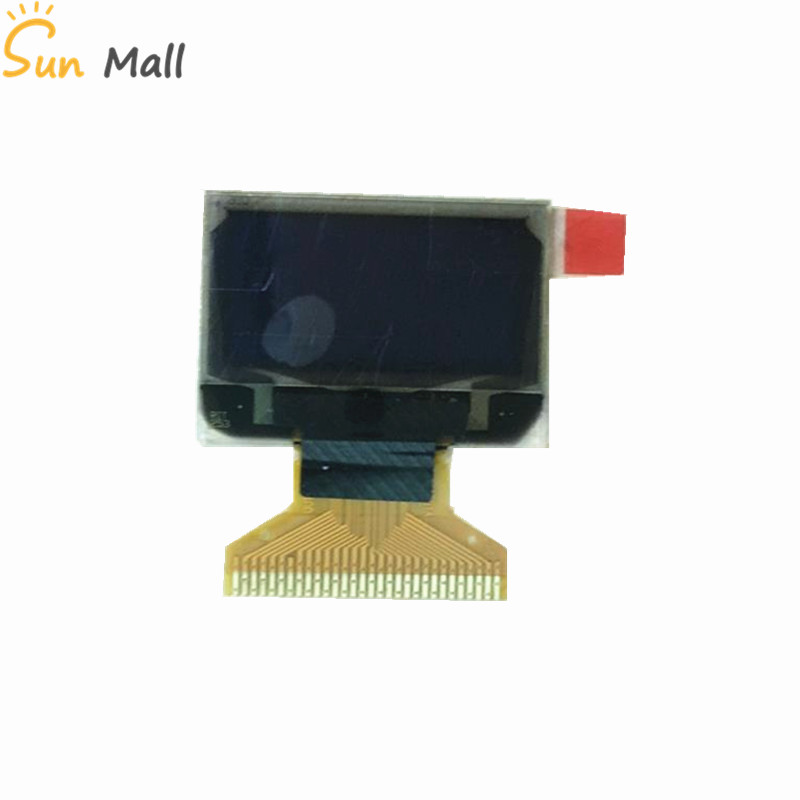 0.96 Inch Blue 128*64 OLED Display 128X64 white blue yellow-blue 30pin LCD SSD1306 Driver Passive Matrix for arduino Diy Kit
