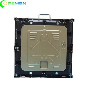 Image 5 - הזול ביותר מחיר ריק led תצוגת קבינט 640mm x 640mm, למות הליהוק אלומיניום led קבינט עבור p5 p10 led מודול 320x160mm