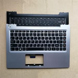 US new laptop keyboard with keyboard palmrest for lenovo ideapad U330 U330P U330T no-backlit