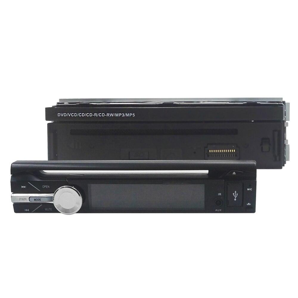 Electrónico del coche de 1 din Coche Reproductor de DVD de Navegación GPS de 7 pulgadas 1 din Radio de Coche Universal En El Tablero Estéreo Video Libera El Mapa