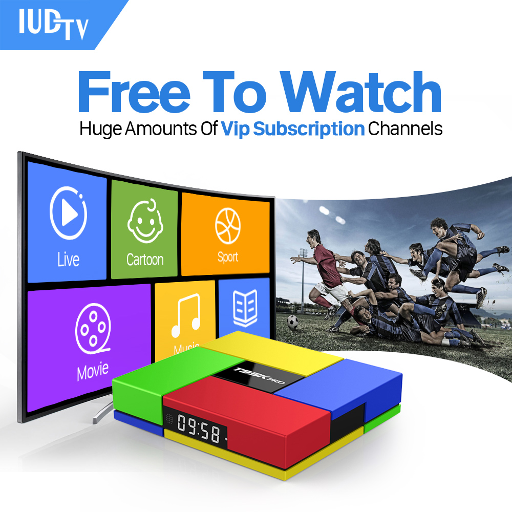 Tv Box Android 6.0 Strong WIFI & 1 Year Europe IPTV 1700+ Arabic French Turkish Sport IPTV Channels 2GB/16G Fast Set Top Box iptv streaming box leadcool android wifi 1g 8g include 1700 italy portugal french receiver europe arabic channels package