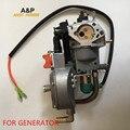 dual fuel carburetor with MANUAL choke LPG NG propane CONVERSION KIT for gasoline generator 5KW/6KW 188F/190F carburetor