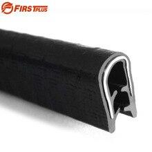 H15mm U tipi otomotiv araç dondurucu SUV araba kapı çerçevesi kauçuk ses geçirmez conta Trim şeritler koruma tamponları