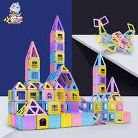 Magnetic Blocks 52/70/76/86/122/142pcs Upgrade Constructor Toy Magnet Designer Toys for Kids High Quality