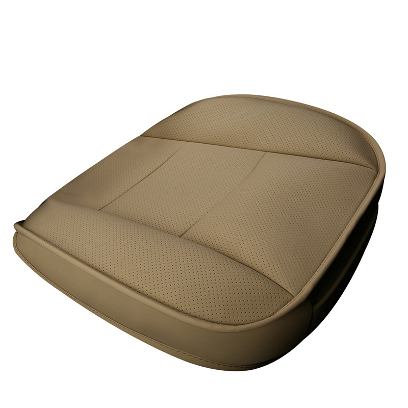 brand Car Seat Cushion Leather Car pad 4 Seasons Wear resistant Car styling Auto Accessories ar seat cover All 90 cars in Automobiles Seat Covers from Automobiles Motorcycles